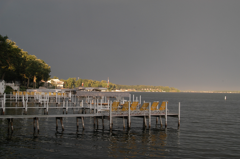 Lake Okoboji Before